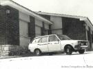 Ambulancia en el antiguo centro de salud