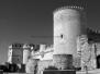 El Castillo en blanco y negro
