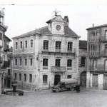 1955 PLAZA MAYOR CON EL TRADICIONAL EMPEDRADO