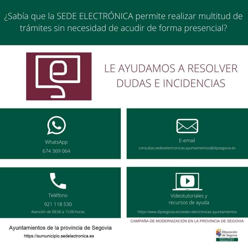 Asistencia técnica uso Sede Electrónica Ayuntamientos